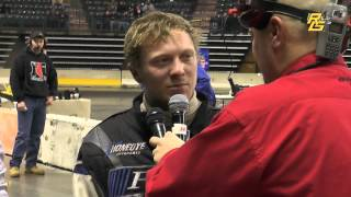Eric Rudolph 1st TQ Midget Victory Lane at Battle of Trenton 12-19-14