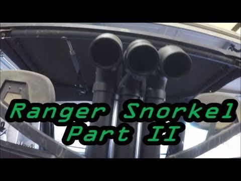 Ranger 800 Snorkel / Lift Kit Part 2
