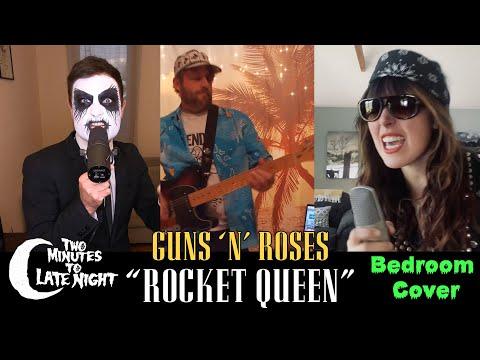 "Sleigh Bells + Poison the Well + High on Fire + Cloak cover Guns 'N' Roses' ""Rocket Queen"""