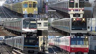 帰ってきた 疾走! 関東私鉄のいろんな電車が通過 thumbnail