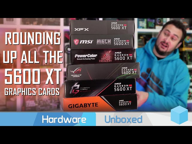 Unboxing Boxes #58: Radeon RX 5600 XT Edition