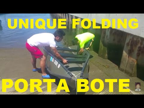 FISHING WITH OUR AMAZING FOLDABLE BOAT PORTA BOTE 2016