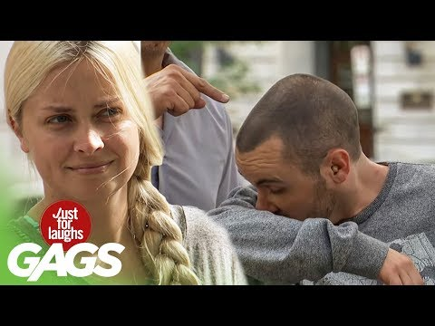 Stinky Armpit Prank - Just For Laughs Gags