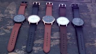 STICKLERY - Elegantní hodinky z pravé italské kůže