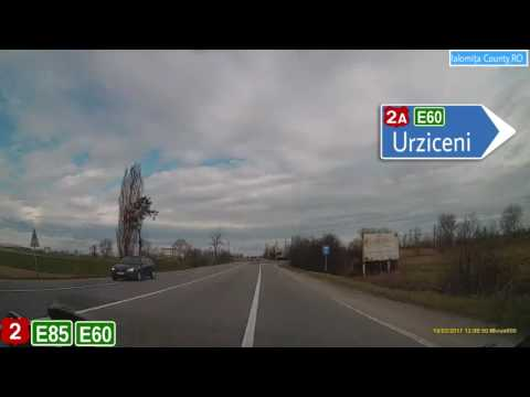 Romania : DN2/E85/E60 - Voluntari (IF) - Buzău (BZ)