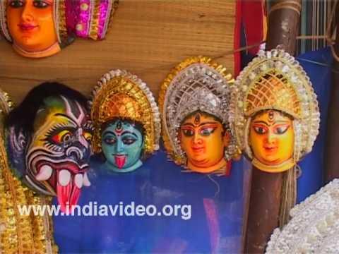 Traditional Bengali Chhau mask