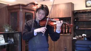 松尾弦楽器お勧め ドイツ製ヴァイオリン フェルディナンド・ヴンダー