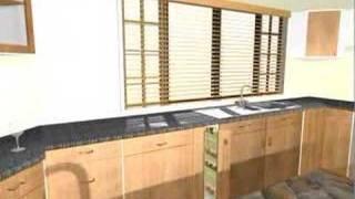 3D Kitchen interior design
