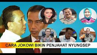 6 Orang Ini Nyungsep Ditangan Jokowi, Pembantu Buron Rp.500 M Djoko Candra