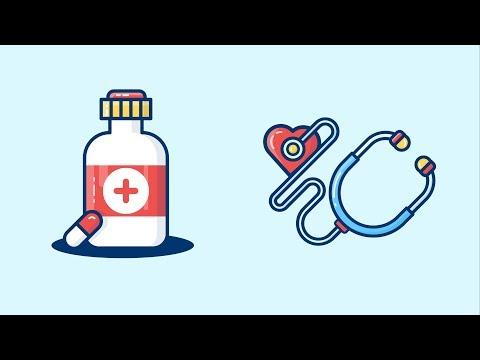 Design Process : Design Medical Icons Part 2 in Illustrator cc