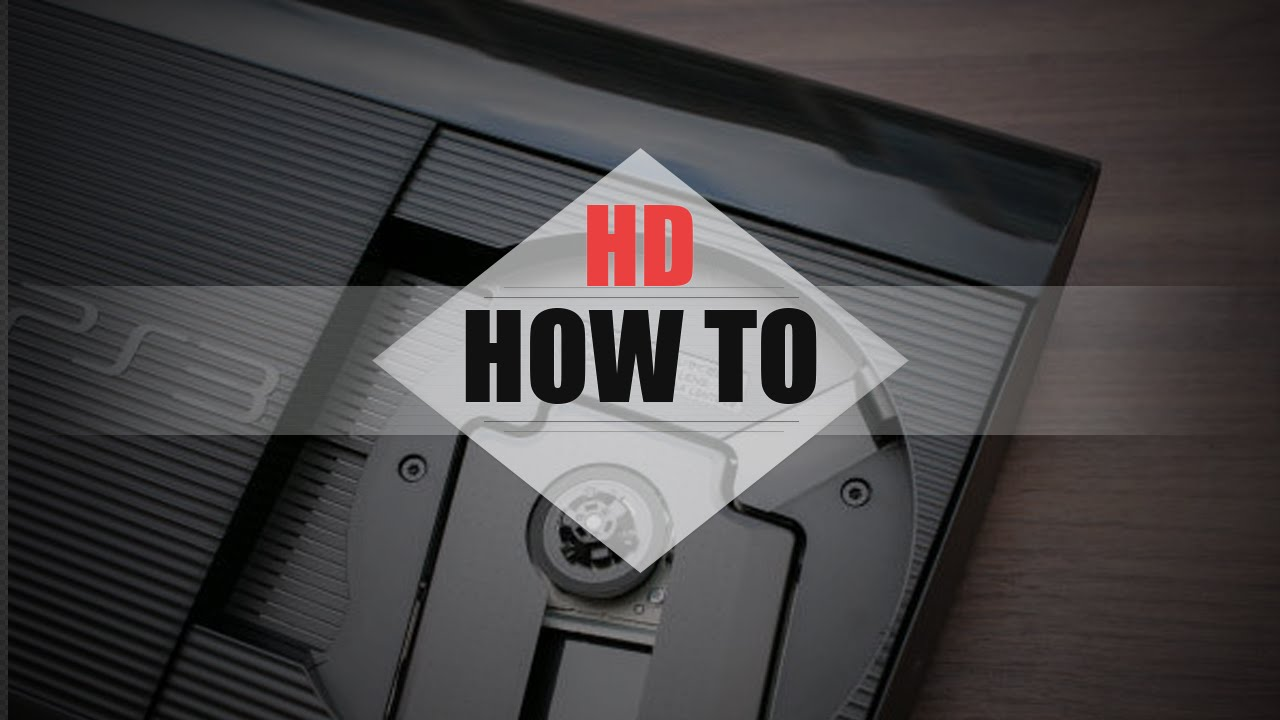how to reuse a ps3 hard drive