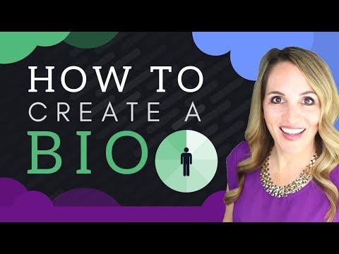 How To Write A Short Professional Bio PERSONAL Bio Example