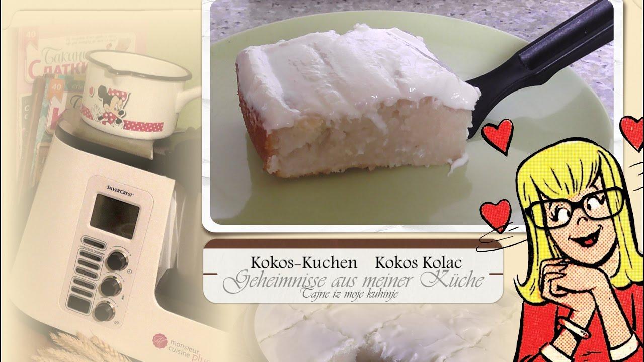 Kokos Kolač * Kokos-Kuchen Tassenkuchen ohne Waage mit Monsieur ...
