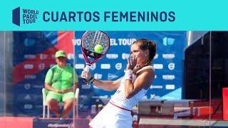 Resumen Cuartos de Final Femeninos (segundo turno) Cervezas Victoria Mijas Open