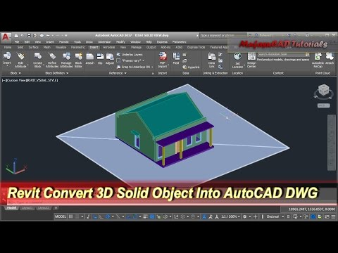 revit-convert-3d-solid-object-into-autocad-dwg- -tips-&-trick