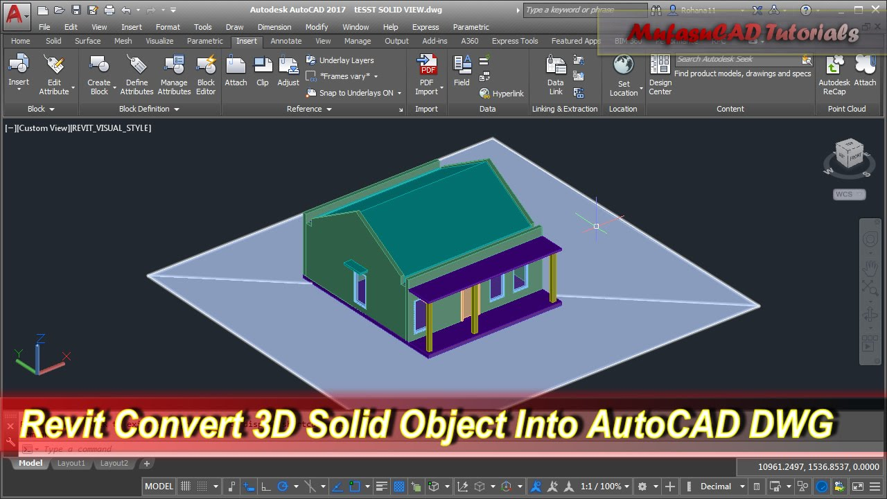 how to learn autocad 3d