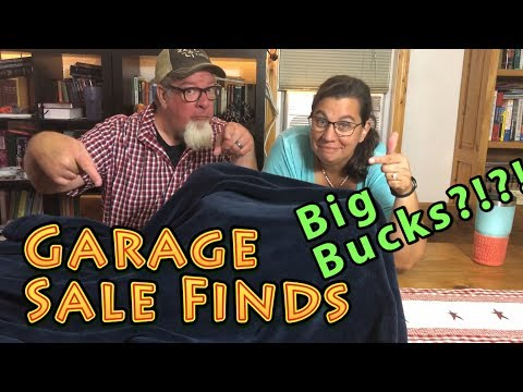 Big Bucks Garage Sale Finds | Rare Antique Toys and Pottery