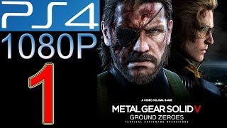 Metal Gear Solid Ground Zeroes Walkthrough part 1 PS4 1080p Metal Gear Solid 5 V Gameplay let