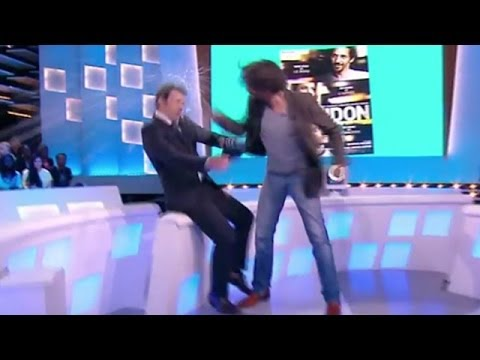 Tomer Sisley frappe Thomas Thouroude  Le Before du Grand Journal