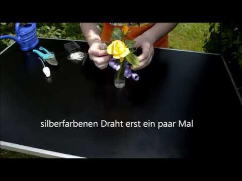 Diy Dekoration Tischdeko Mit Rosen Und Lavendel Selber Basteln