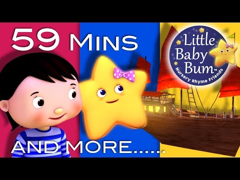 Twinkle Twinkle Little Star | Part 4 | Plus Lots More Nursery Rhymes | 59 Mins from LittleBabyBum!