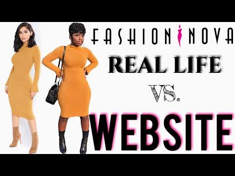 Fashion Nova Try-On Haul 2017   Real Life vs. Website   iDESIGN8