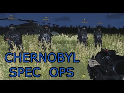 "Chernobyl Spec Ops Mission 1 ""Chain of Command"": Arma 3 modded Spec ops"