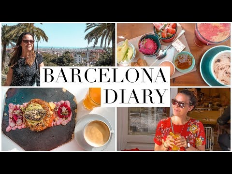 BARCELONA. FOOD & TRAVEL DIARY.