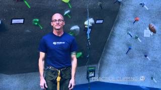 Chris Wall of the Boulder Rock Club demonstrated how to best learn ...