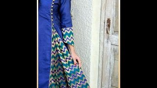 Front pleated kameez simple method (DIY)