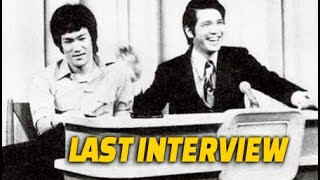 Bruce Lee's Last Interview on EYT with 'Ivan' Ho Bee
