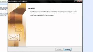 Configurando Email no Outlook 2007 (bol, gmail, hotmail, yahoo).