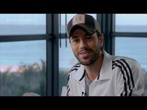 Enrique Iglesias - Interview In Miami