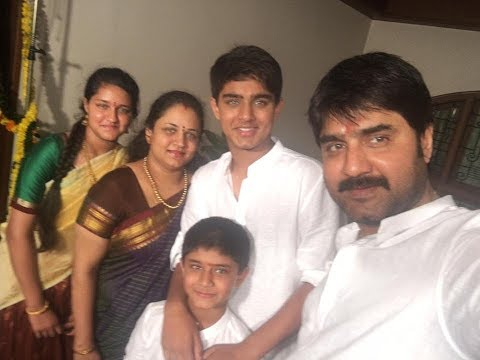 Telugu Actor Srikanth Family Photos