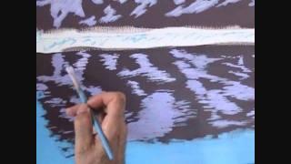 Видео 5 части 6, как рисовать горы и озеро с акрилом(Как рисовать горы и озеро с акрилом на холсте. В этом видео я объяснить каждый шаг живопись процесс скалы,..., 2011-08-27T06:43:54.000Z)