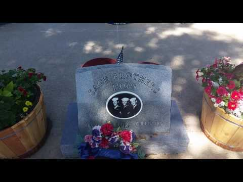 Sage Brothers Memorial in Niobrara, Nebraska - May 16, 2017 - Travels With Phil