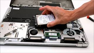 Add a 2nd Hard Drive to a HP Envy 17 -3000 series laptop (3xxx)
