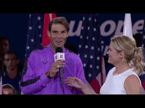 "Rafael Nadal: ""I'm just emotional"" | US Open 2019 Men's Final"