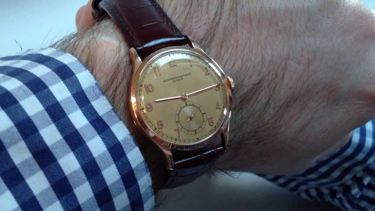 Vacheron constantin reloj vintage