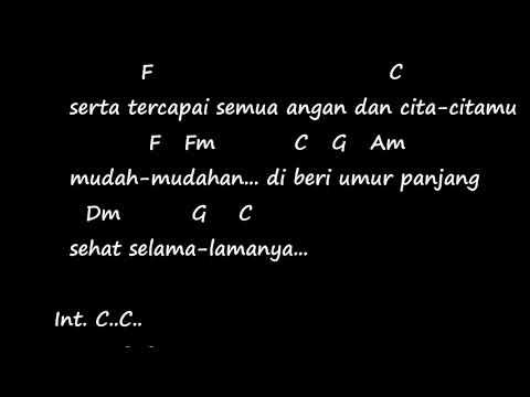Selamat Ulang Tahun Jamrud Chord Lirik