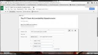 How To Create A Google Form And Tiny URL