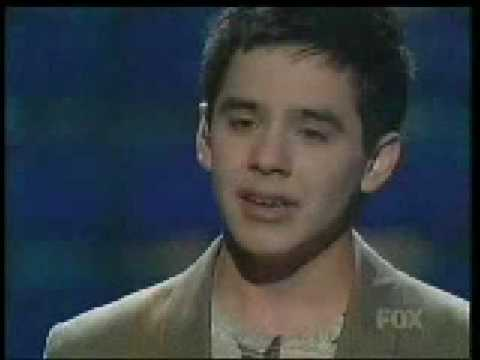 David Archuleta - American Idol Week 14 part1(Don't Let the Sun Go Down on Me)[HQ]