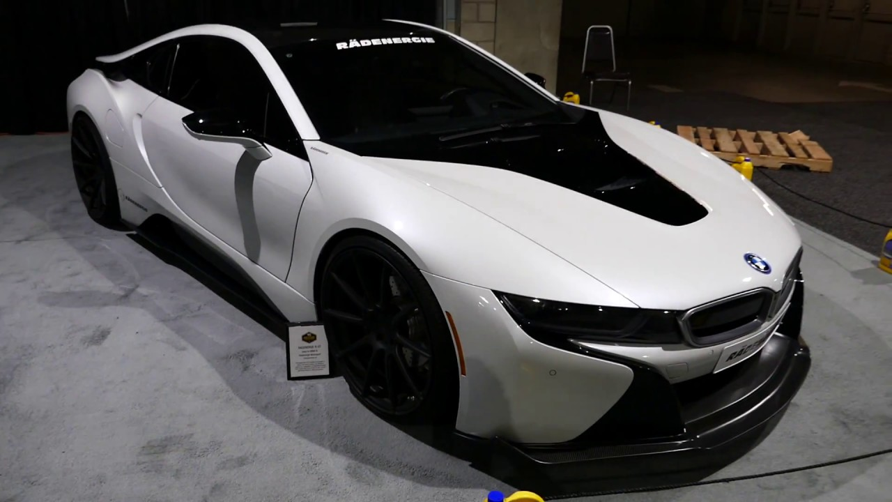 New 2018 Bmw I8 Super Car Custom Body Kit 2017 La Auto Show Los