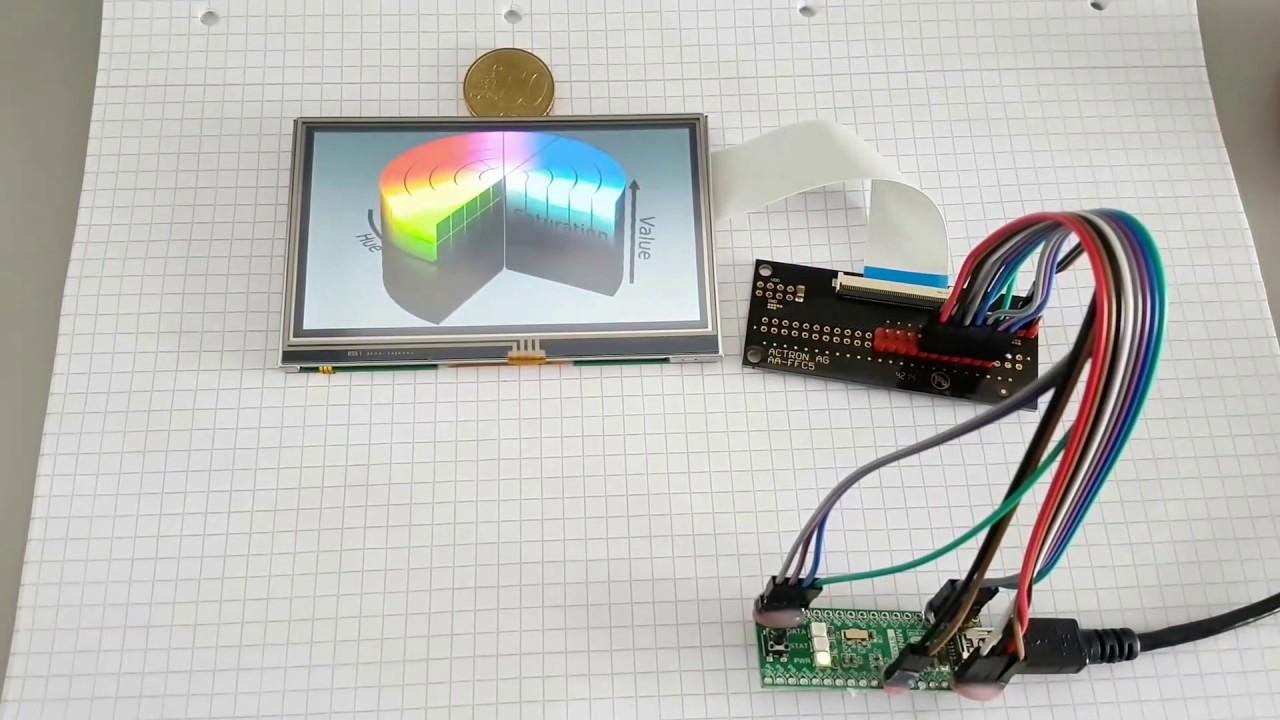 Elektronische Bauelemente Und Systeme Neue 7 zoll Tft Lcd Modul 800x480 Ssd1963 Touch Pwm Für Arduino Avr Stm32 Arm 800*480 800 480 Digital Control Board Lcd Module