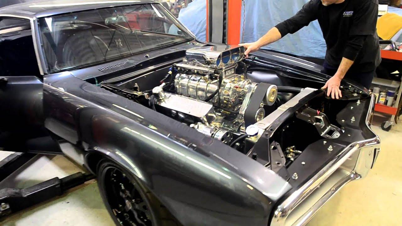 Tri Power Krebs Blown 1967 Pontiac Firebird 1st Start