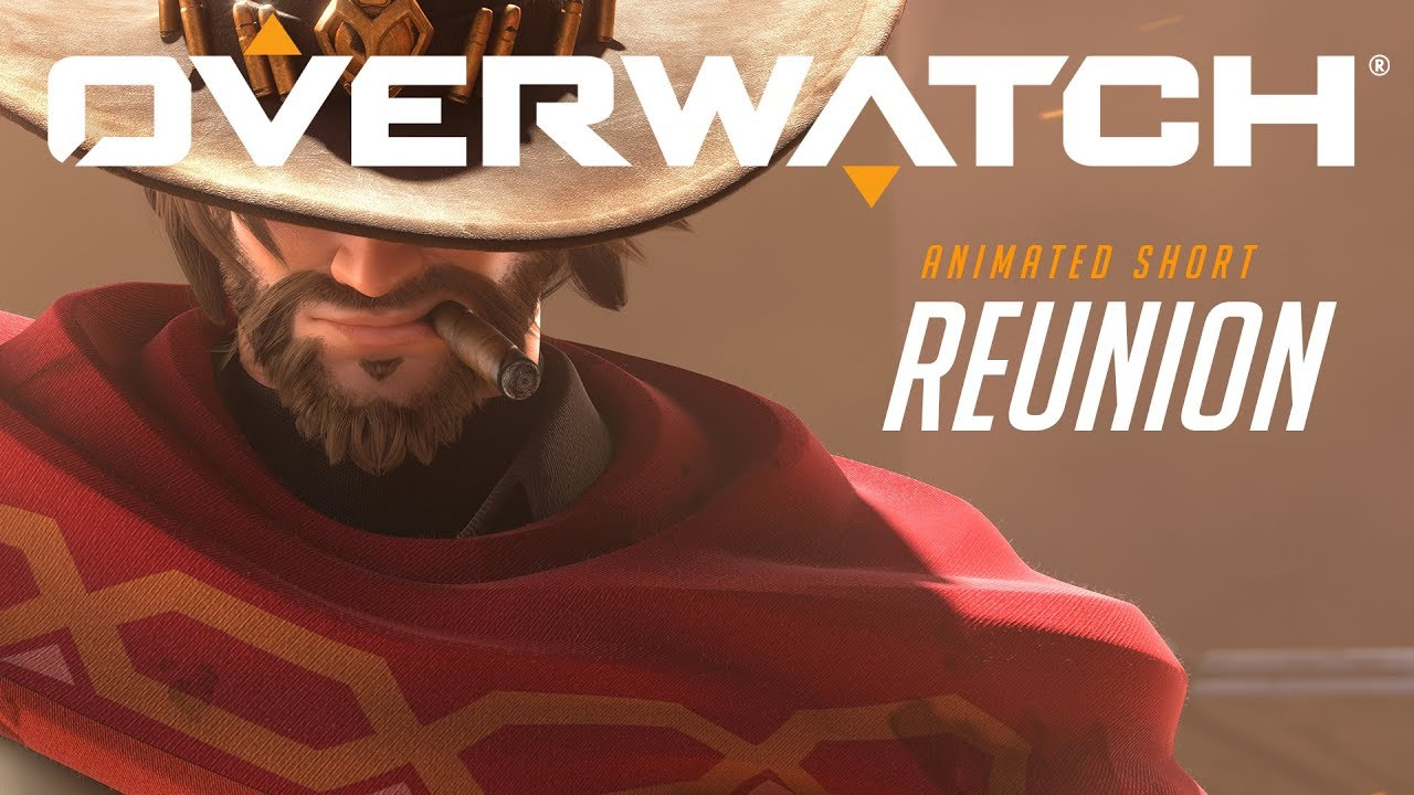 New Overwatch Hero Ashe Reunites with an Old Acquaintance in