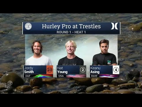 Hurley Pro at Trestles: Round One, Heat 1