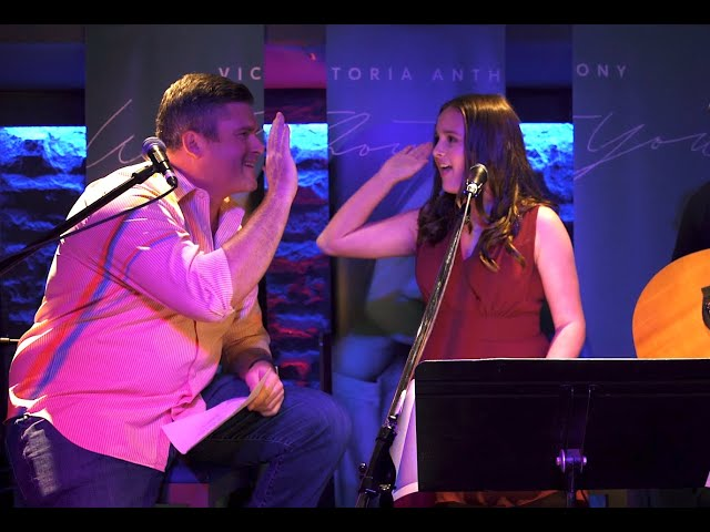 Victoria Anthony Father's Day Duet- Like I'm Gonna Lose You Live Cover -Meghan Trainor & John Legend