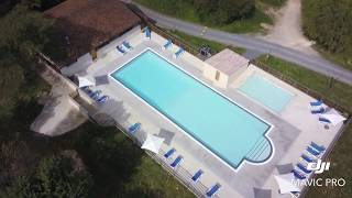 Camping les 2 vallees heated pool @ Dordogne