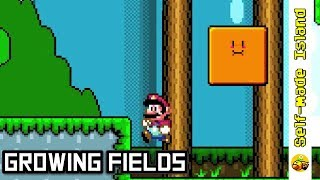 Growing Fields • Super Mario World ROM Hack